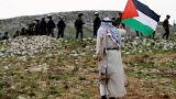 Palesztin aktivisták összetűzése izraeli rendőrökkel a Föld Napján