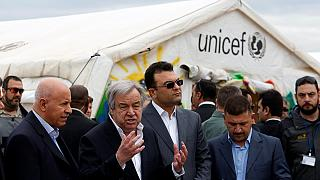 UN chief calls for more help for people fleeing Mosul