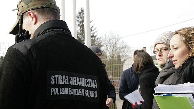 Flüchtlinge aus Tschetschenien stellen erfolglos Asylanträge in Polen