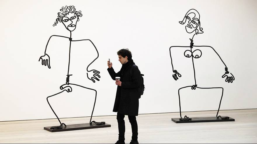 """A """"selfie"""" como forma de arte em Londres"""