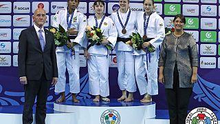Judo Grand Prix Tiflis 2017: Gelungenes Comeback - Gold für Amandine Buchard