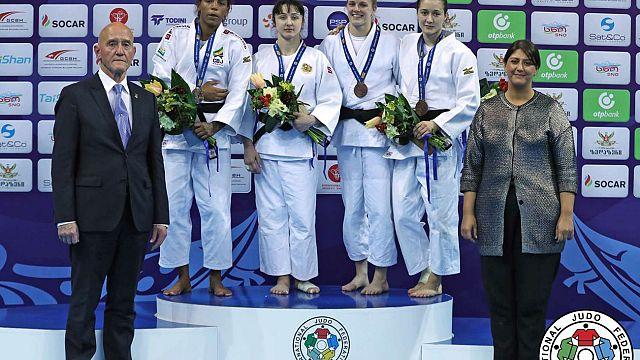 Georgia conquista dos oros en la primera jornada del Gran Premio de Tiflis de judo