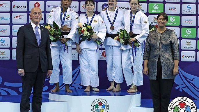 Judo : Amandine Buchard sacrée à Tbilissi