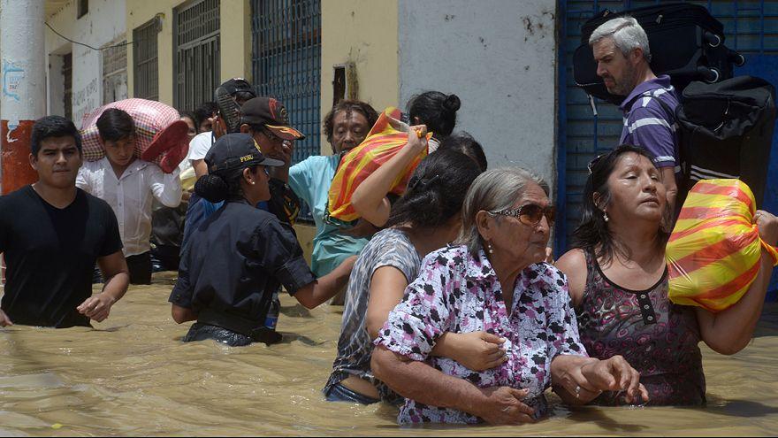 Inondations au Pérou