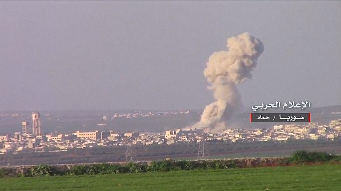 Cирия: армия взяла под контроль большую часть провинции Хама