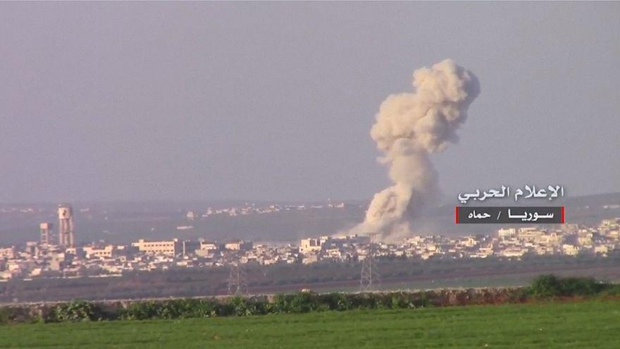 Suriye ordusu Hama'da muhaliflerin kontrolündeki köyleri geri aldı