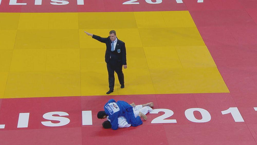 Österreicherin Krssakova holt Judo-Gold in Tiflis - euronews