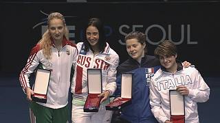 Fencing's number ones take gold at the Seoul Grand Prix