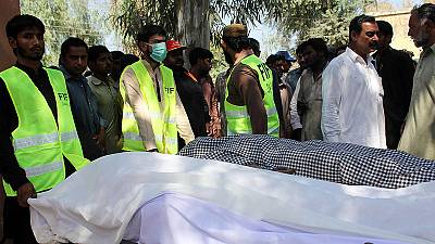 Murders at Pakistani shrine leave at least 20 dead