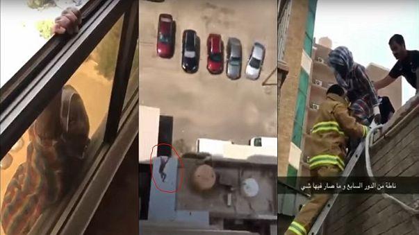 Ethiopian maid in Kuwait: I wasn't attempting suicide in cruel employer's viral video