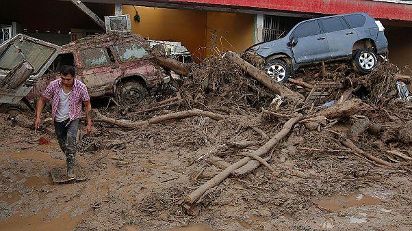 صلیب سرخ: رانش زمین در جنوب کلمبیا جان ۲۰۰ نفر را گرفت