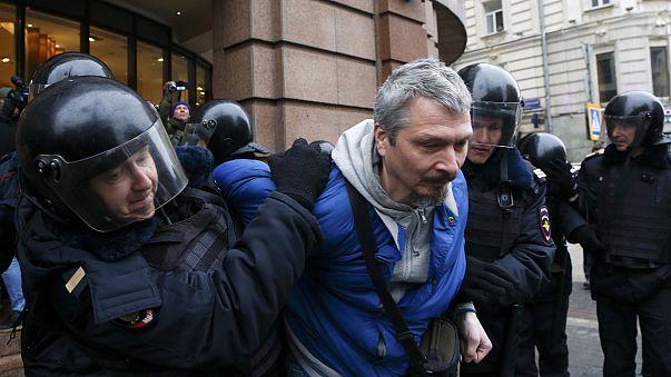 Une trentaine d'opposants arrêtés à Moscou