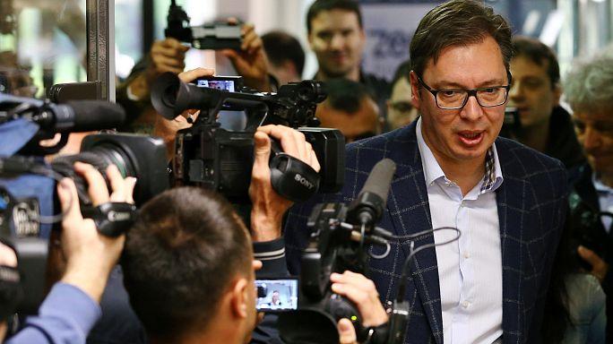 Serbiens Regierungschef zum Präsidenten gewählt