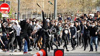ادامۀ اعتراض ها به مرگ یک شهروند چینی در فرانسه