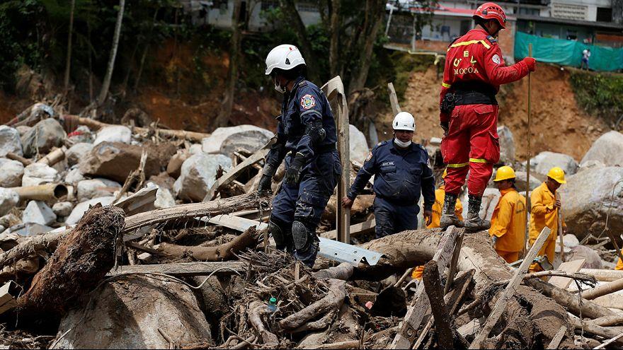 240 قتيلا ومئات الجرحى في انزلاقات أرضية في جنوب كولومبيا...عمليات الإغاثة متواصلة