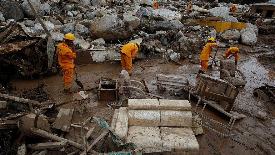 Au moins 254 morts dans une coulée de boue en Colombie