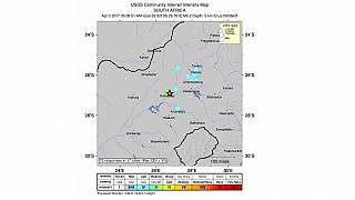 Early morning earth tremor felt in parts of South Africa