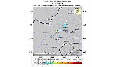 Afrique du Sud: un tremblement de terre ressenti ce matin