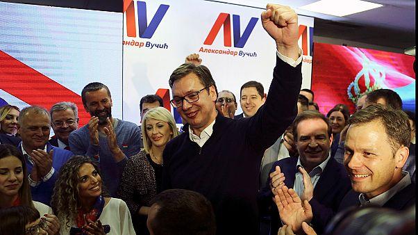 Serbian Premier Aleksandar Vucic elected president