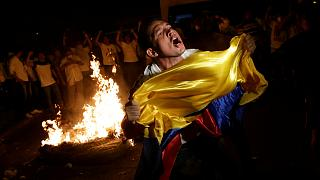 Wahlproteste in Ecuador