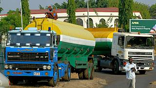 Nigeria oil tanker truck drivers on nationwide strike