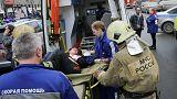"""Ouverture d'une enquête pour """"acte terroriste"""" après l'explosion dans le métro de Saint-Pétersbourg."""