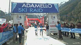 Alp disiplininde Damiano Lenzi ve Matteo Eydallin rüzgarı