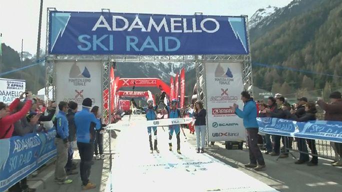 """""""Адамелло ски-рейд"""": на вершине и итальянцы и швейцарки"""