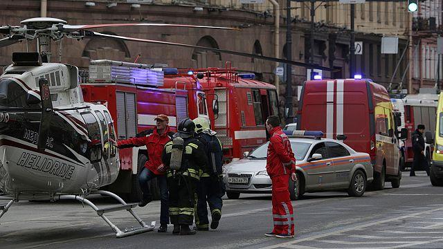 عشرة قتلى وخمسين جريحا في انفجار محطة الأنفاق في سان بطرسبورغ والرئيس الروسي لا يستبعد إعتداء إرهابياً