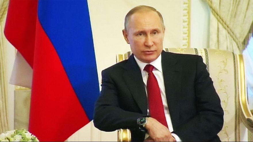 Putin apunta al terrorismo por el atentado en San Petersburgo