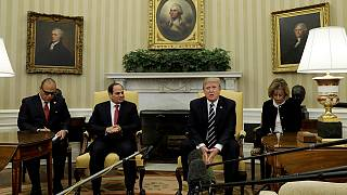 Al-Sisi: no longer a pariah in Washington