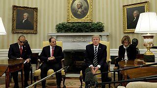 Al-Sisi da Trump: in agenda la lotta all'Isis e la cooperazione tra i due Paesi