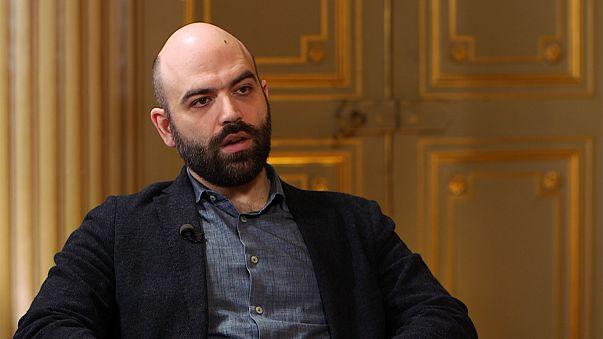 Roberto Saviano ai microfoni di Euronews parla di riciclaggio in Europa