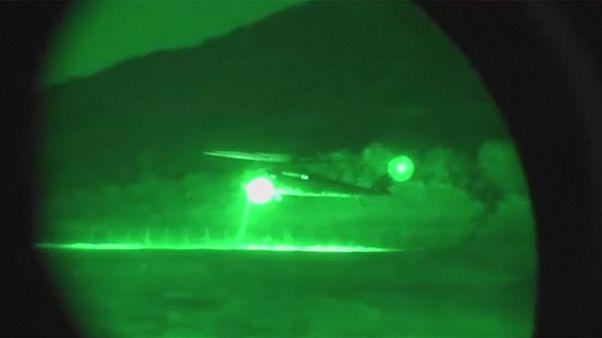 ارتش کلمبیا مواضع شورشیان مسلح را بمباران کرد