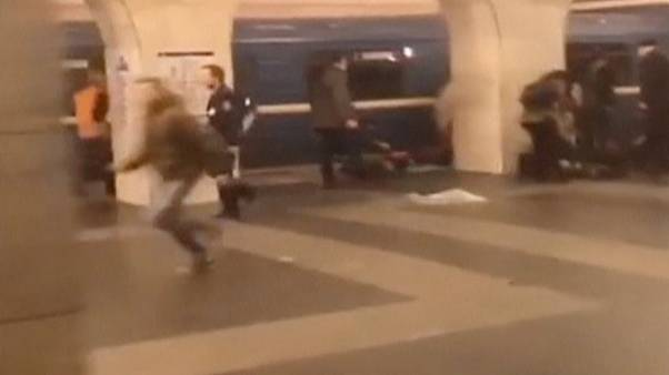 San Pietroburgo: i video dei minuti subito dopo l'attentato