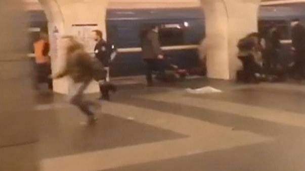 """São Petersburgo 14h40: """"Foi assustador"""""""