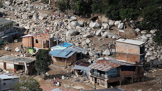 Kolombiya'da felaketin bilançosu ağırlaşıyor: 273 ölü