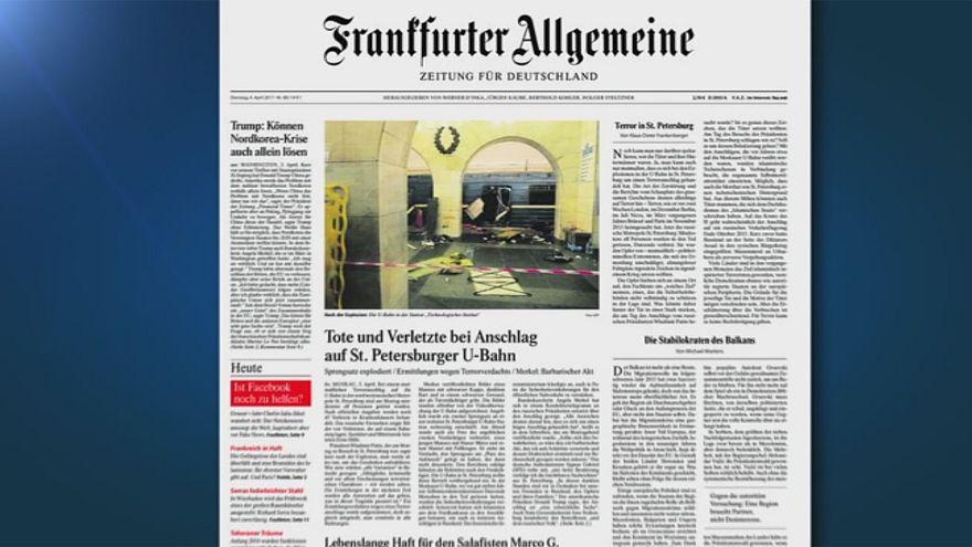 Европейская пресса о петербургском теракте