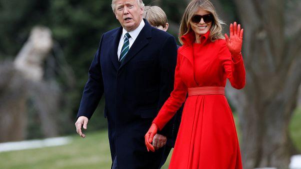 Lob, Spott und Photoshop - am offiziellen Foto von Melania Trump (46) scheiden sich die Geister
