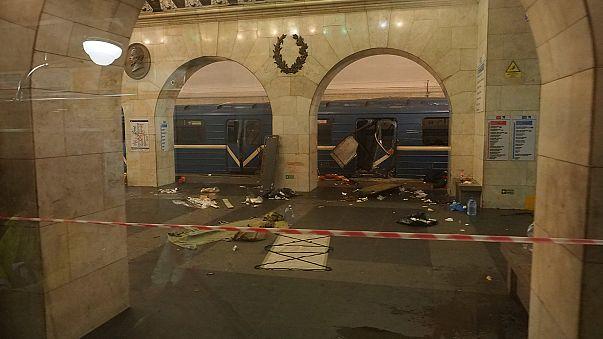 Van gyanúsítottja a szentpétervári robbantásnak