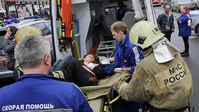 Saint-Pétersbourg : des blessures graves et des personnes traumatisées