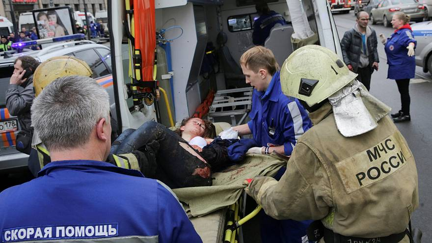 آسیب دیدگان انفجار سن پترزبورگ به زخمی شدگان محل حادثه خلاصه نمی شوند