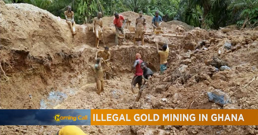 ghana activists campaign against illegal mining  the