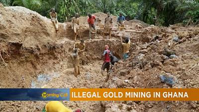 Ghana activists campaign against illegal mining [The Morning Call]