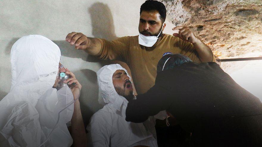 Syrie : 58 morts, dont 11 enfants, après une attaque chimique