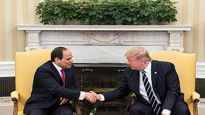 Trump, Sisi pledge to combat terrorism