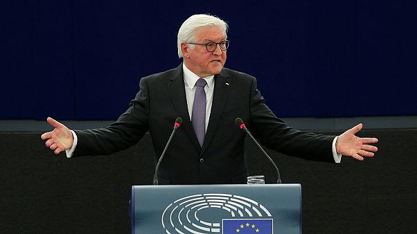 Σταϊνμάιερ: «Εμείς οι Γερμανοί θέλουμε να κρατήσουμε την Ευρώπη ενωμένη»