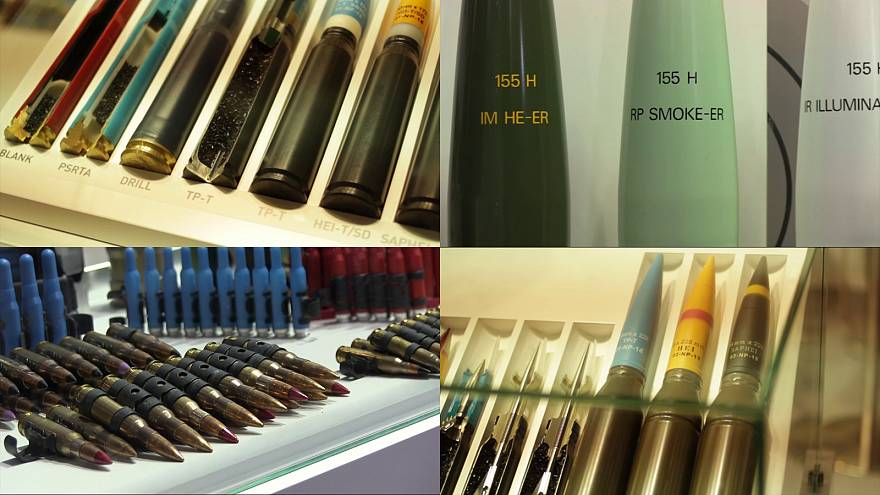 Spanish weapons in the international market