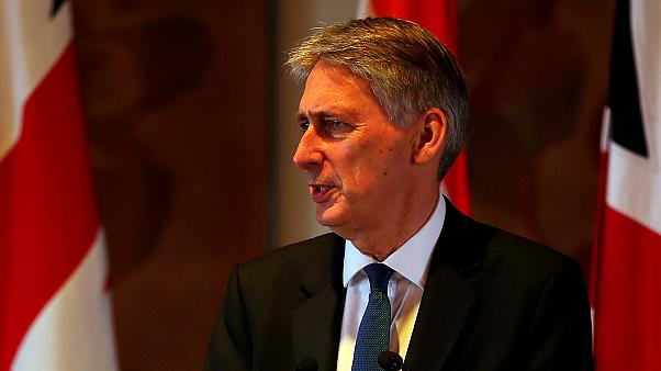 Hammond sweet-talks Delhi with prospect of trade deals as EU looks on warily