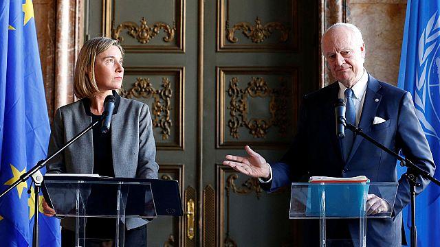 Война в Сирии ужасает Брюссель и Люксембург